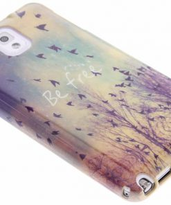 Samsung Galaxy Note 3 Be free design TPU siliconen hoesje