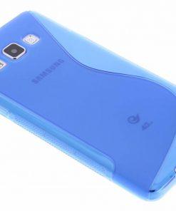 Samsung galaxy A7 Blauw S-line TPU hoesje