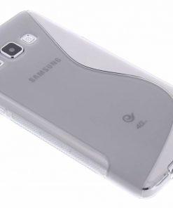 Samsung galaxy A7 Grijs S-line TPU hoesje