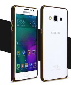 Samsung Galaxy A7 Aluminium Bumper Zwart