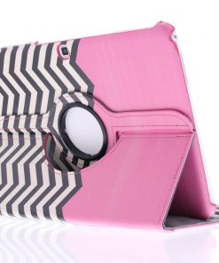 Samsung Galaxy Tab 4 10.1 360° draaibare chevron design tablethoes