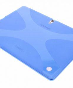 Samsung Galaxy Tab S 10.5 Blauwe X-Line TPU tablethoes