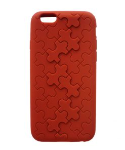 Apple iPhone 6 Puzzel Hoes Rood