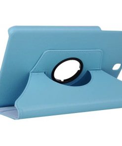 Samsung Galaxy Tab A 9.7 PU-Lederen 360 Cover Blauw