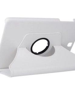 Samsung Galaxy Tab A 9.7 PU-Lederen 360 Cover Wit