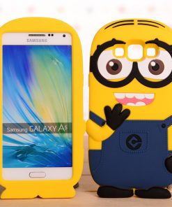 Samsung Galaxy A5 Hoesje Despicable Me Donker Blauw