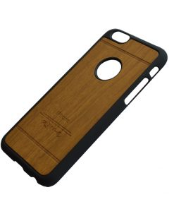 Apple iPhone 6 Luxe hout design hoes Bruin