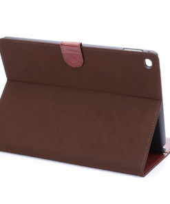 iPad Air 2 Cover Suede Donker Bruin.