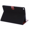 iPad Air 2 Stand Cover Suede Zwart