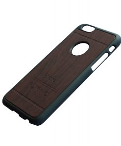 Apple iPhone 6 Luxe hout design hoes Donkerbruin