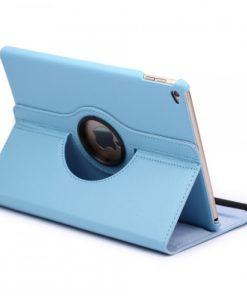 iPad Air 2 Pu-Lederen 360 Cover Licht Blauw.