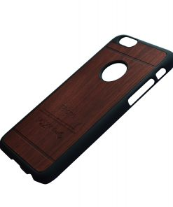 Apple iPhone 6 Luxe hout design hoes Bruinrood