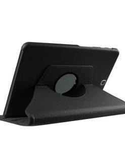 Samsung Galaxy Tab S2 9.7 PU-Lederen 360 Cover Zwart