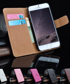 Samsung Galaxy S6 Lederen Booktype Hoes