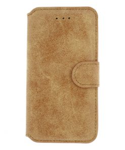 Xccess Wallet Book Stand Case Vintage Light Brown iPhone 6/6S