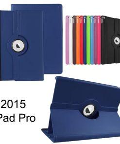 iPad Pro pu-lederen 360 Case Blauw