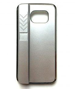 Samsung Galaxy S6 Aanstekerhoesje Zilver