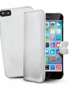 Celly Ambo 2in1 Apple iPhone 6 / 6S Hard Case/Booktype - Wit
