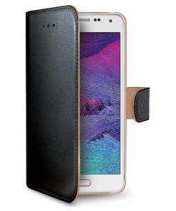 Celly Wally Samsung Galaxy S6 Booktype Case - Zwart