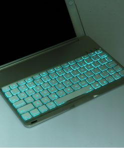 iPad Air 2 Bluetooth Keyboard Aluminium Case 2