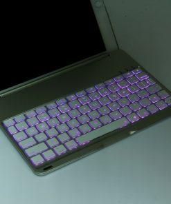 iPad Air 2 Bluetooth Keyboard Aluminium Case 1