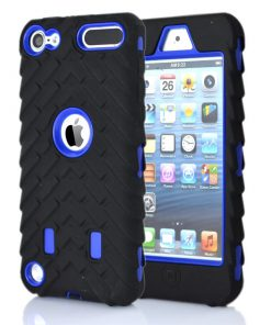 iPod Touch 5/6 Shock Proof Hoesje Zwart Blauw