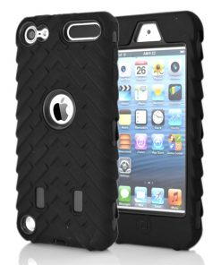 iPod Touch 5/6 Shock Proof Hoesje Zwart.