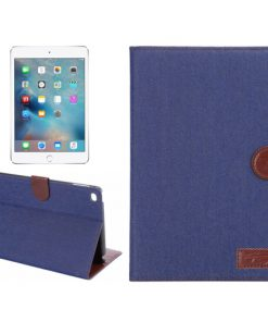 iPad Mini 4 Cover Jeans Style Blauw