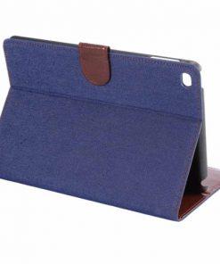 iPad Mini 4 Cover Jeans Style Blauw