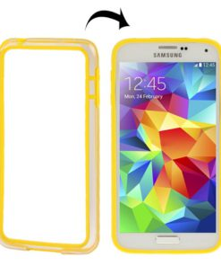 Samsung Galaxy S5 mini Kunststof Bumper Geel