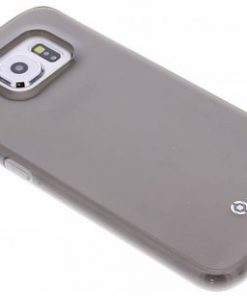 Celly Gelskin Cover Samsung Galaxy S6 Edge - Grijs
