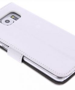 Celly Wally Samsung Galaxy S6 Booktype Case - Wit