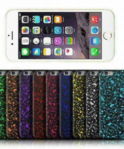 Apple iPhone 5 / 5S 3D Neon Splash Hardcase