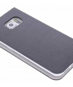 Anymode Booktype Samsung Galaxy S6 Edge - Zwart