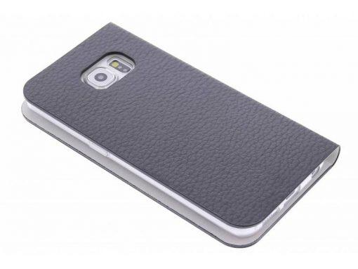 Anymode Booktype Samsung Galaxy S6 Edge - Zwart