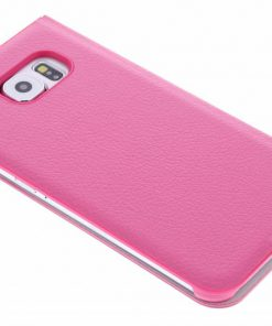 Anymode Booktype Samsung Galaxy S6 - Roze
