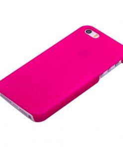 Apple iPhone 5 / 5S Roze effen Hardcase