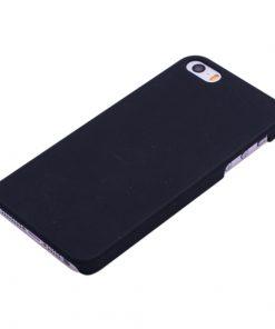 Apple iPhone 5/5S Zwart Effen Hardcase