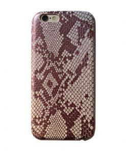Apple iPhone 5 / 5S Slangen Design Hardcase Hoesje - Roze