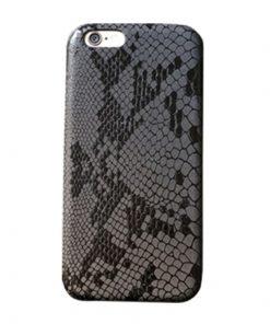 Apple iPhone 5 / 5S Slangen Design Hardcase Hoesje - Zwart