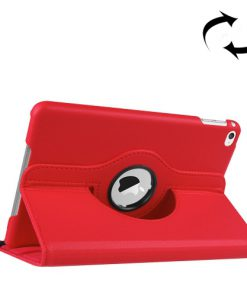 iPad Mini 4 Pu Lederen 360 Cover Rood
