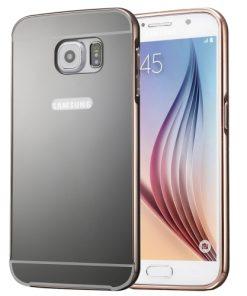 Samsung Galaxy S7 Acrylic Back Cover met Aluminium Bumper Zwart