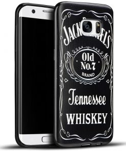 Jack Daniel's look TPU&Siliconen hoesje Samsung Galaxy S7 Edge