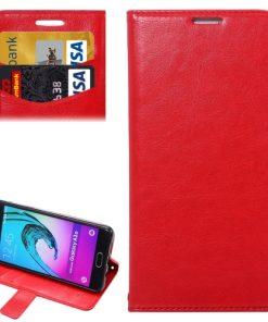 Samsung Galaxy A3 (2016) Wallet Hoesje Rood