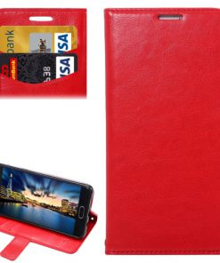 Samsung Galaxy A5 (2016) Wallet Hoesje Rood