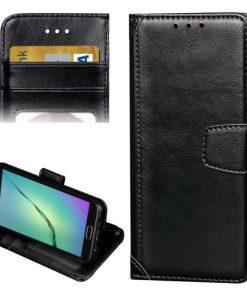 Samsung Galaxy A3 (2016) Wallet Hoesje Zwart
