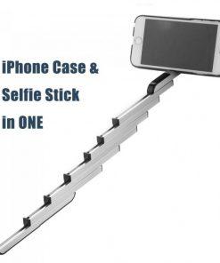 Apple iPhone 6 / 6s Plus Stikbox Selfie Hoesje Blauw -125881