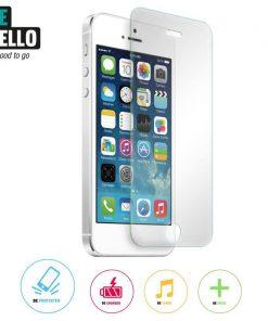 BeHello High Impact Glass Screenprotector Glossy Transparant iPhone 5 / 5S