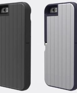 Apple iPhone 6 / 6s Plus Stikbox Selfie Hoesje Blauw -0