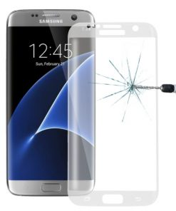 Full Screen Tempered Glass voor Samsung Galaxy S7 Edge Transparant